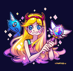 Star Butterfly by visualkid-n