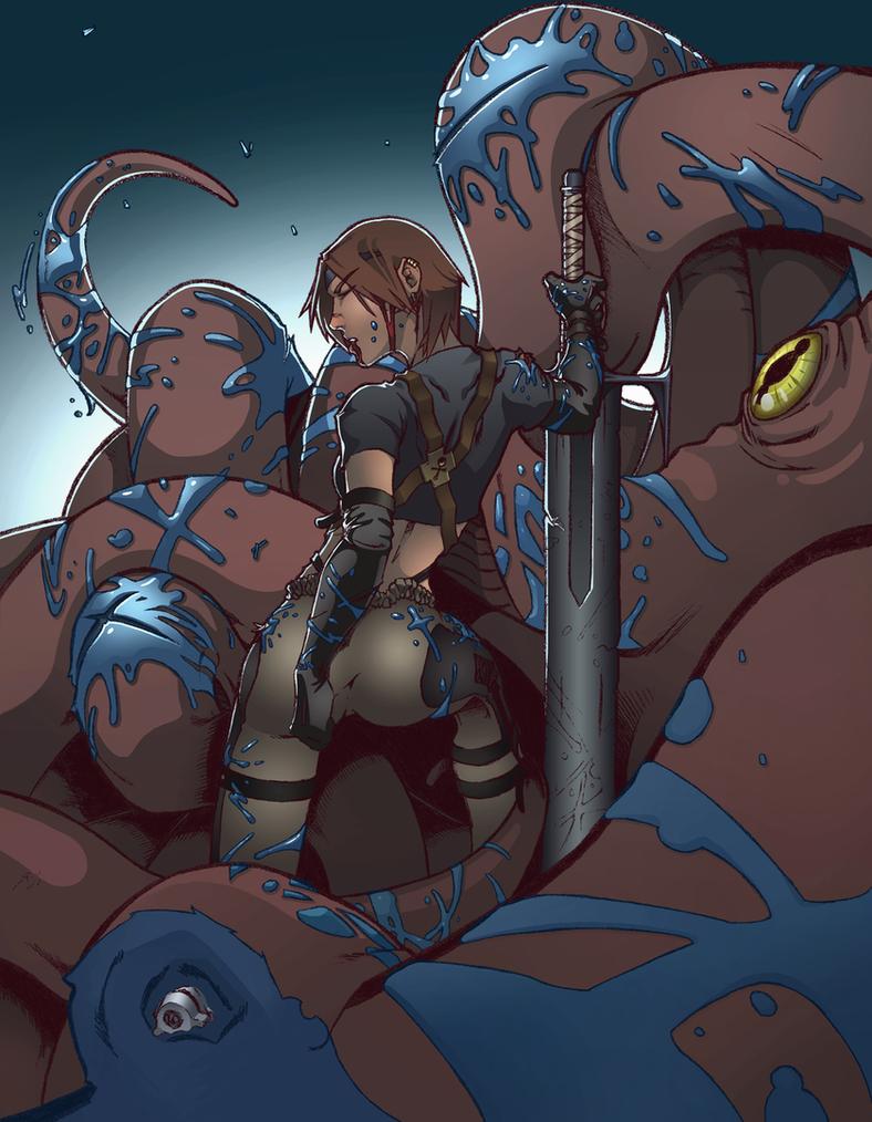 Fan Art Demon Hunter by DrawlinesMisfits