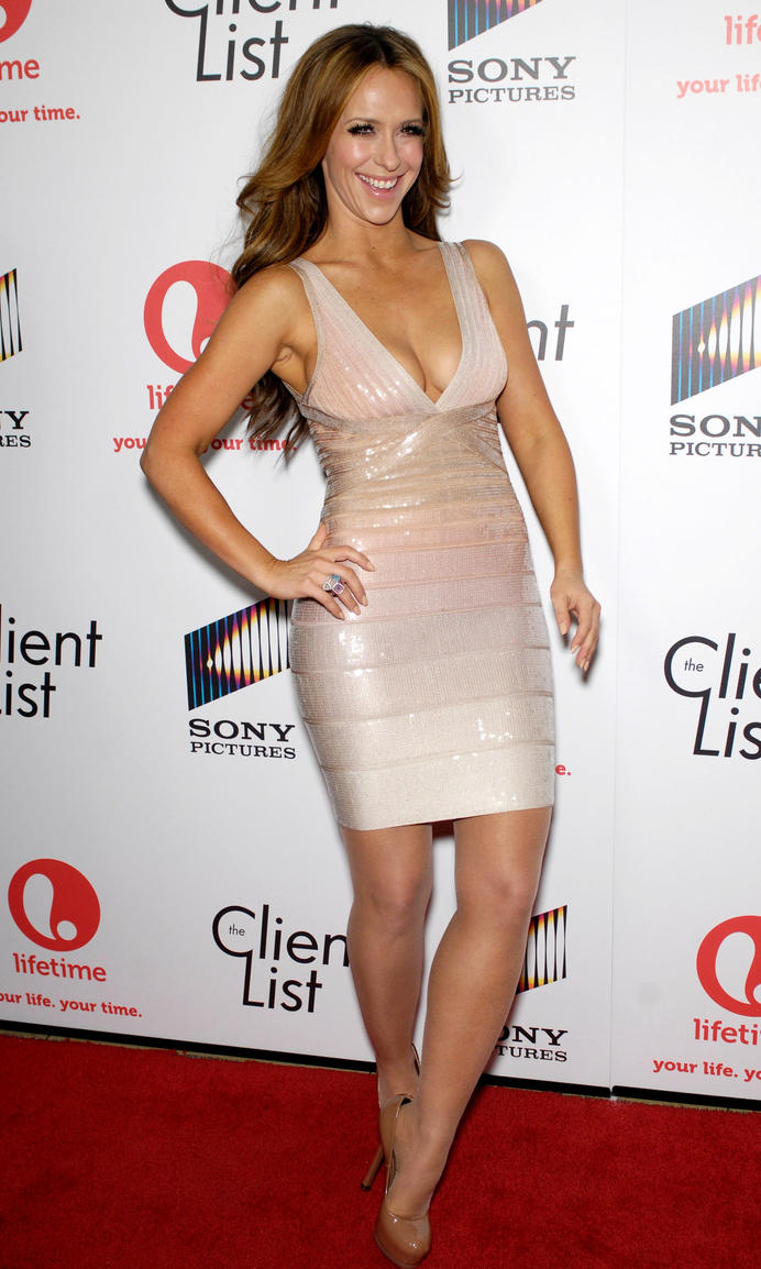 Jennifer Love Hewitt In Pantyhose