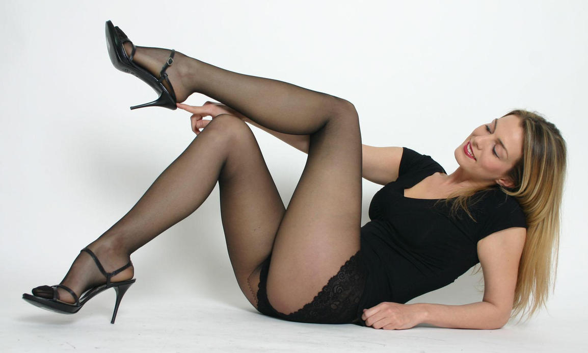 blonde with black cock