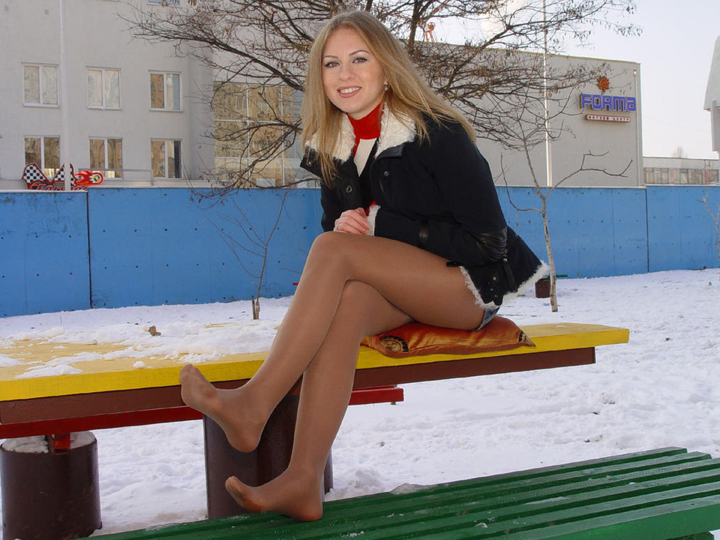 Pantyhose pics cold variant can