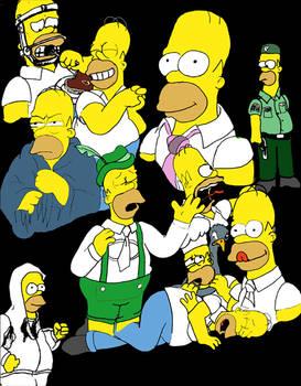 Homer Simpson Drawings