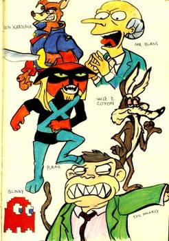Evil Cartoon Characters