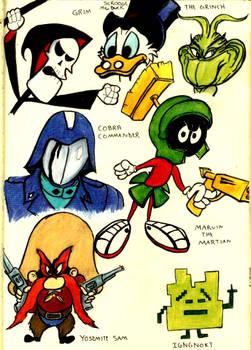 Evil Cartoon Characters 3