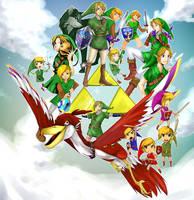 Zelda anniversary by addixii