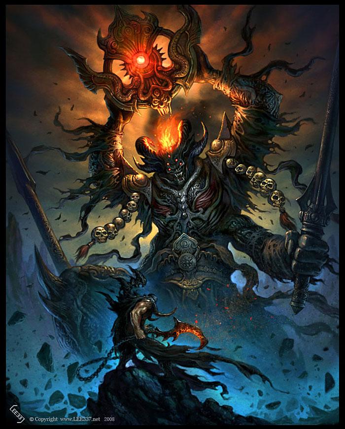 huge monster by lee-337