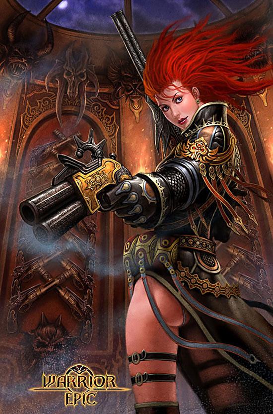gungirl by lee-337