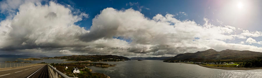 Kyle of Lochalsh by phoelixde