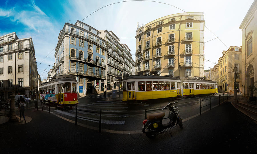 Largo da Madalena by phoelixde