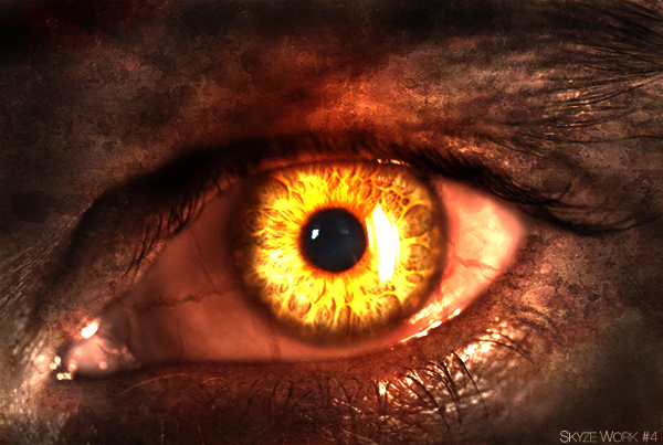 Eye Fire by SkyzeGFX on DeviantArt