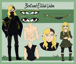 Reference sheet: Brell (and Ellilah!) Valen