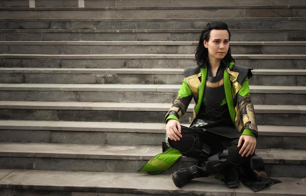 Loki cosplay by valeravalerevna