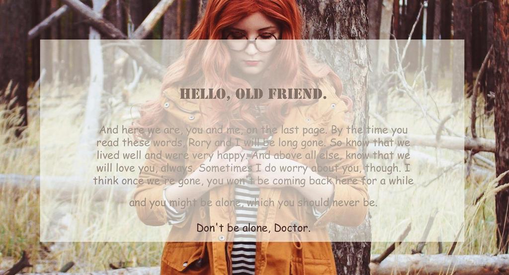 Hello, Old friend by valeravalerevna