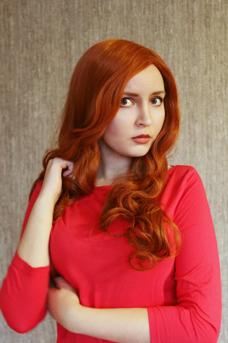 Amy Pond (make up test) by valeravalerevna