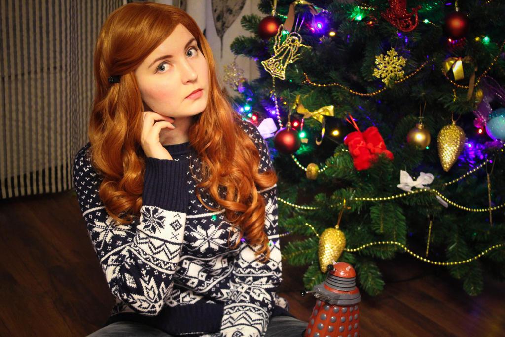 Christmas Amy Pond Cosplay 03 By Valeravalerevna On Deviantart