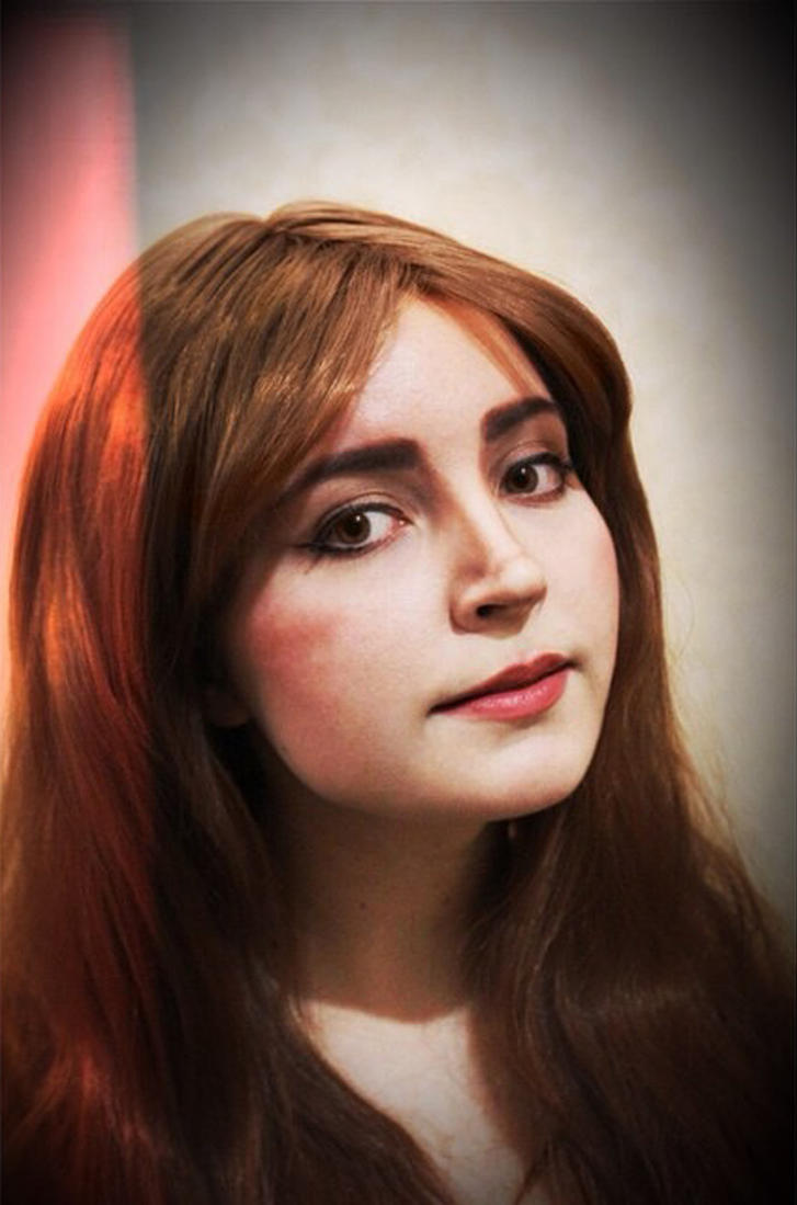 Clara Oswald make up test 2 by valeravalerevna