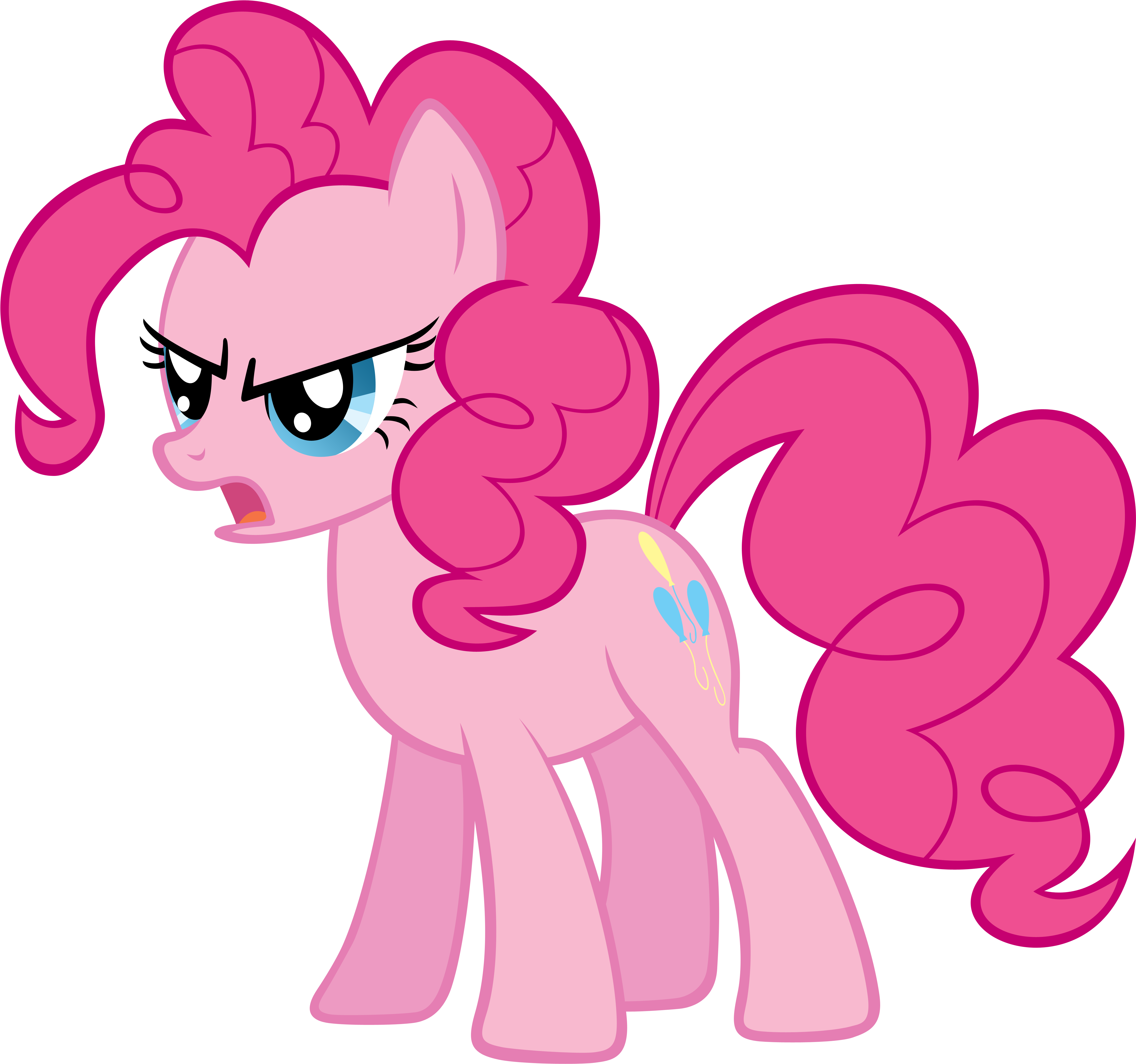 Pinkie Pie is Angry by piranhaplant1