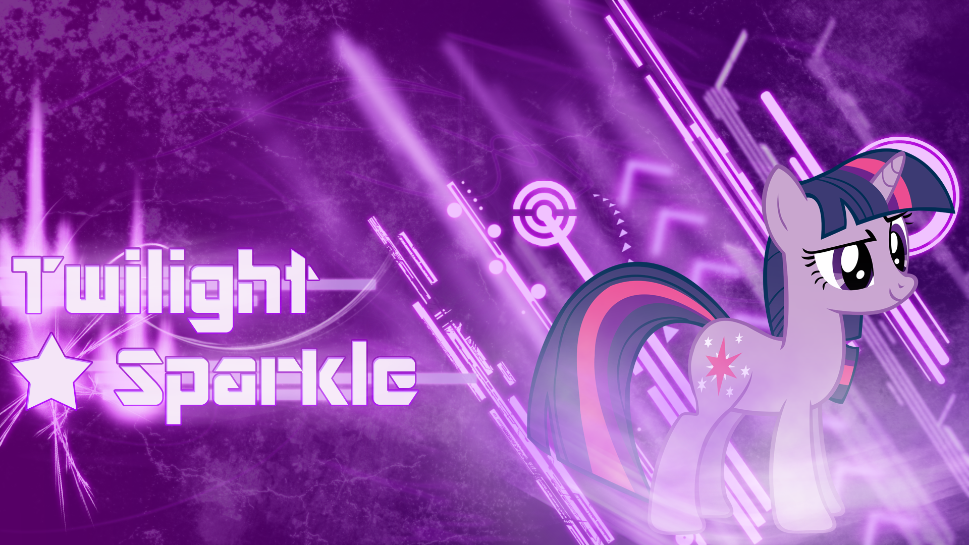 Twilight Sparkle Wallpaper 3 by piranhaplant1