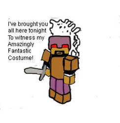 CaptainSparklez' Sparkling Costume