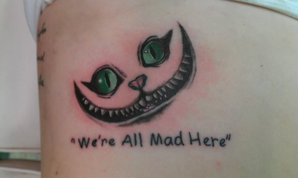 we 39 re all mad here by gwentattoos on deviantart