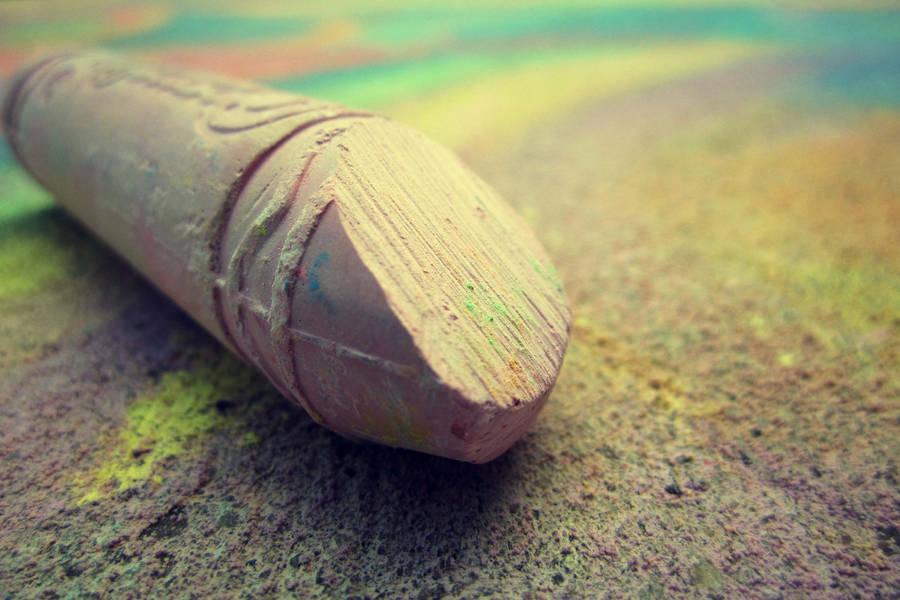 162: Sidewalk Chalk by Lilliva-Dast