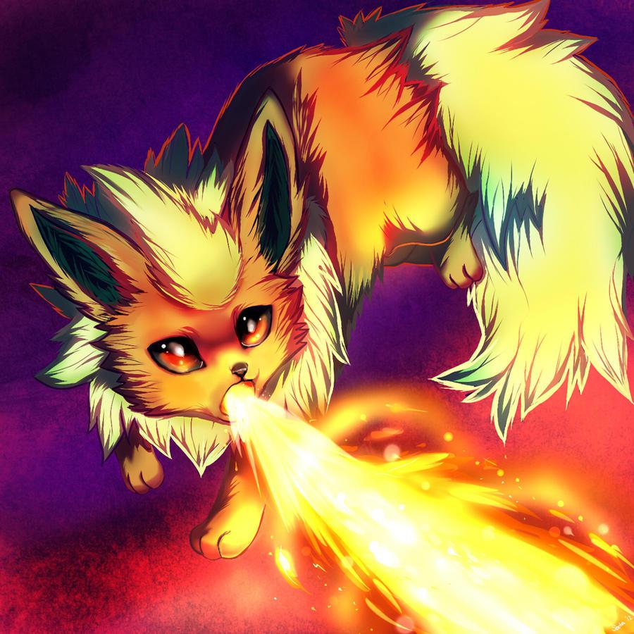 Flamethrower by Hyorina