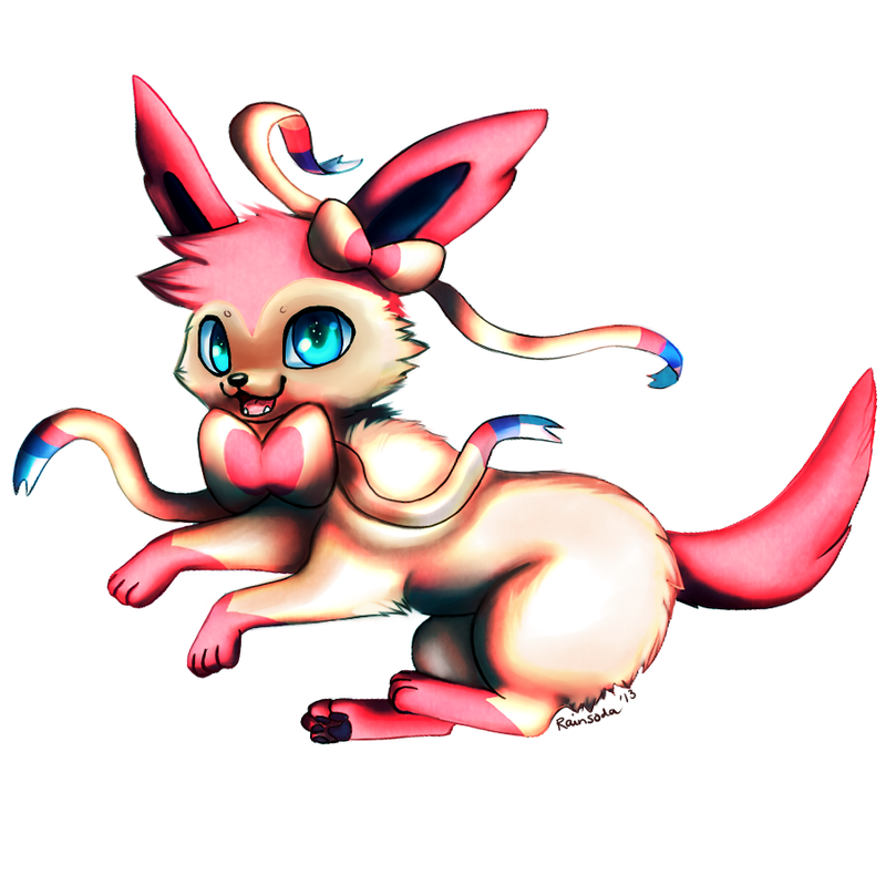 Sylveon by Hyorina