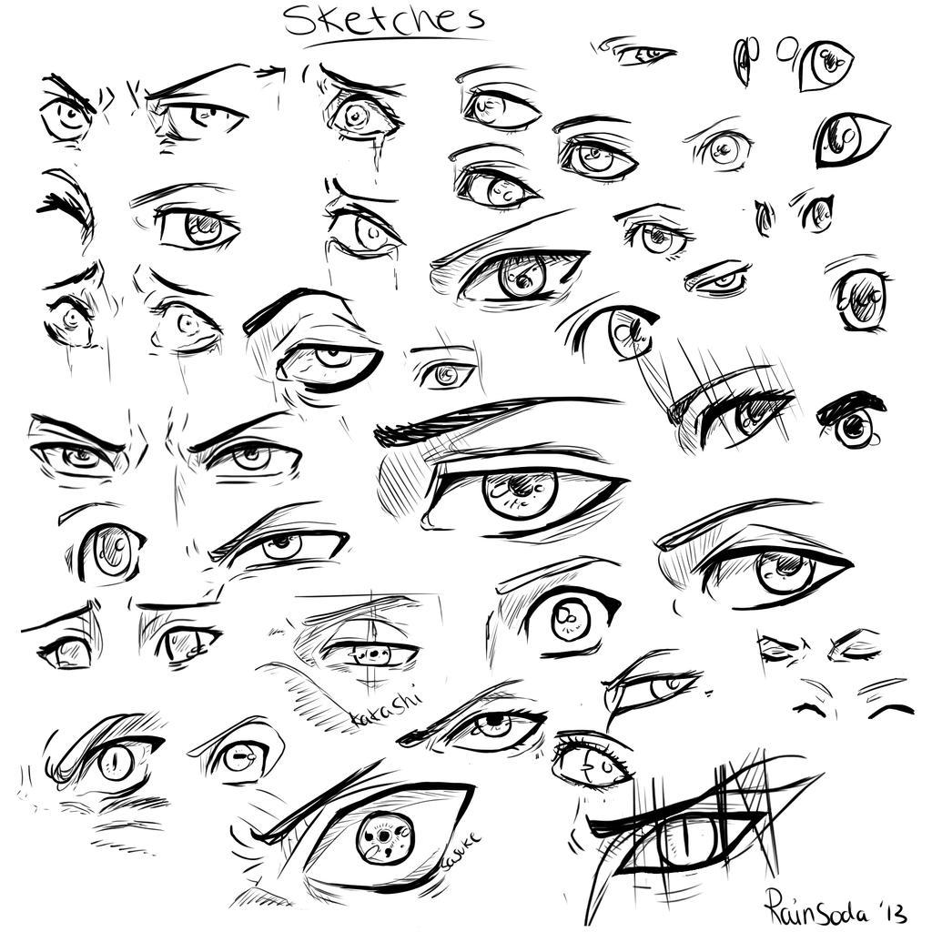 Stepbystep Wikihow · Eyes Drawings Eyes Sketches Eyes Pictures Eyes Pics Eyes  Drawing Sketches How To