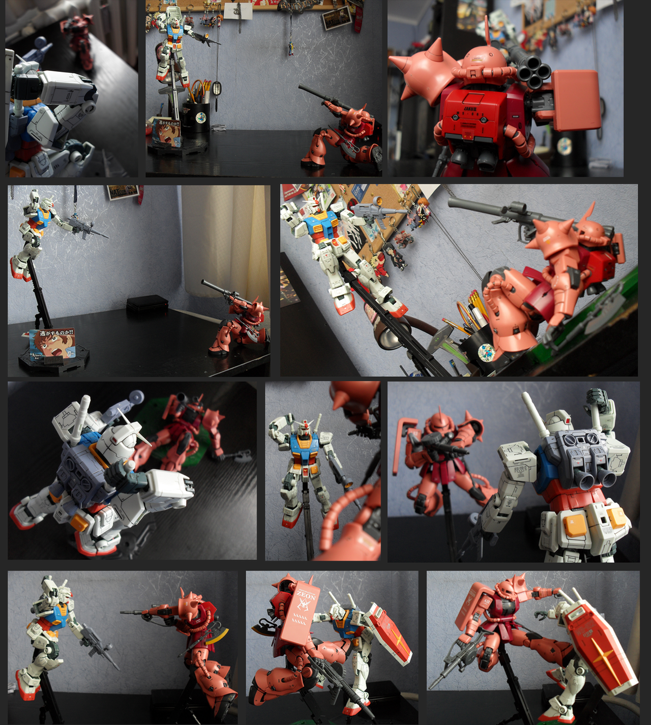 Char vs Amuro compilation by Vejit