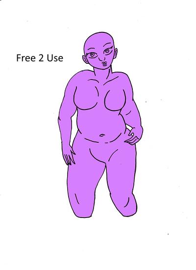 Anime Chubby Girl Base F2u By Cknightleyart On Deviantart