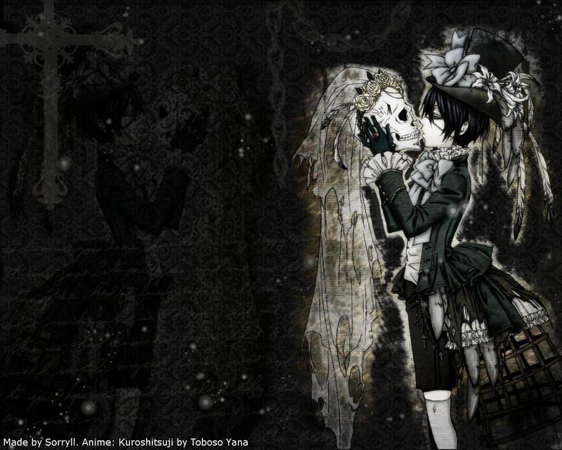 ciel phantomhive wallpaper by sorryll on deviantart