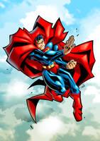 Superman by Lukali