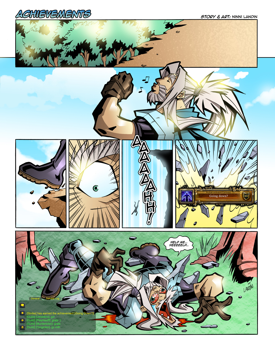 WoW Comic - Achievements by Lukali
