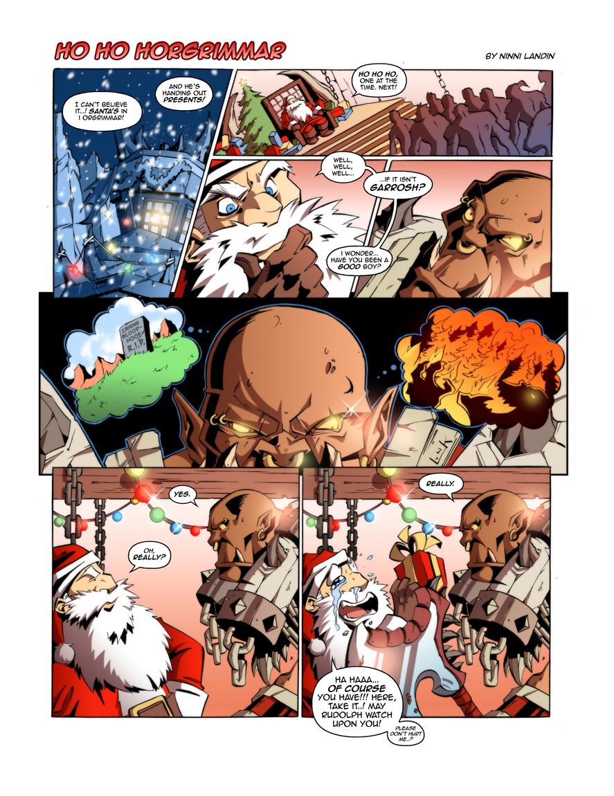 WoW Comic - Ho Ho Horgrimmar