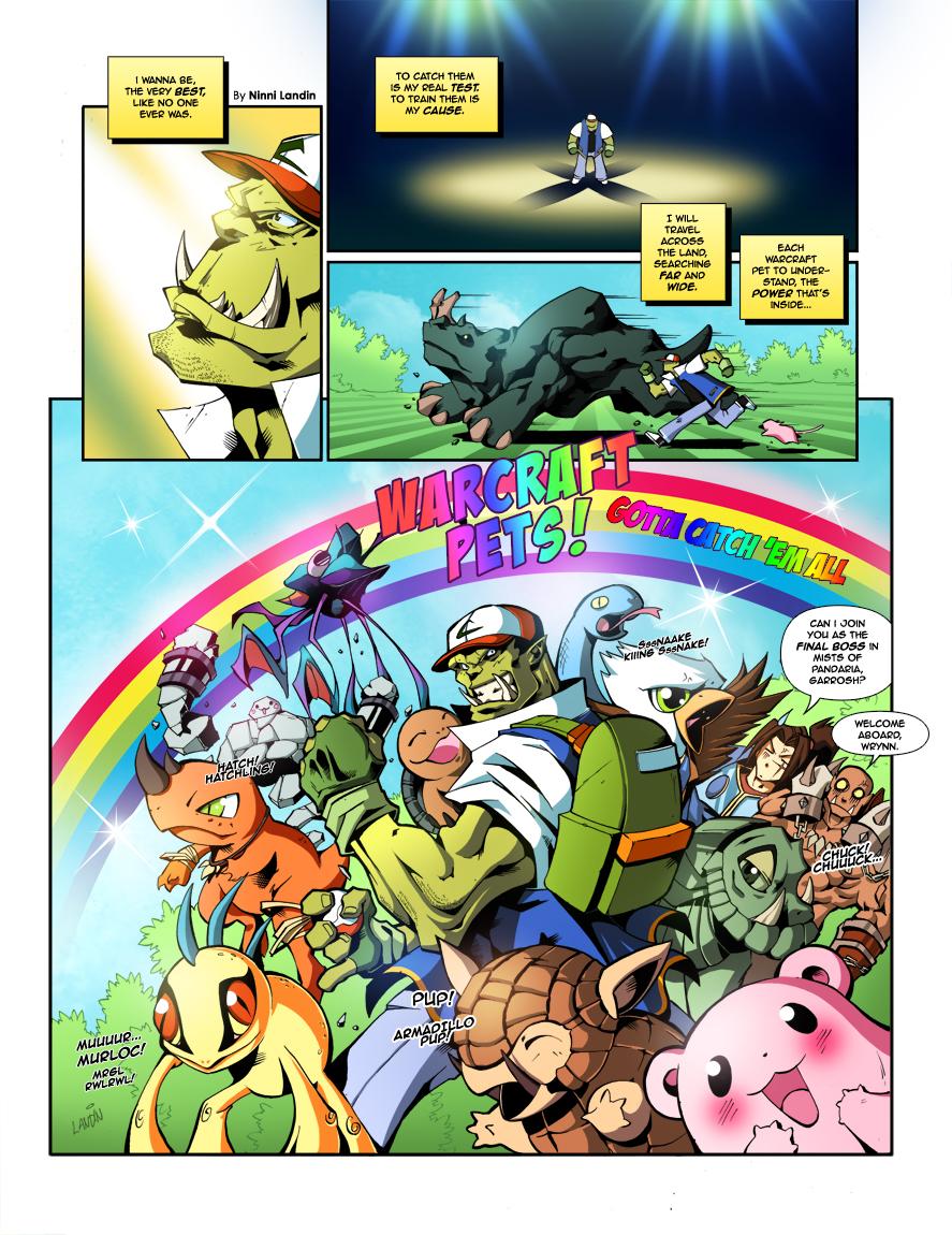 Wow Comic - Wowmon