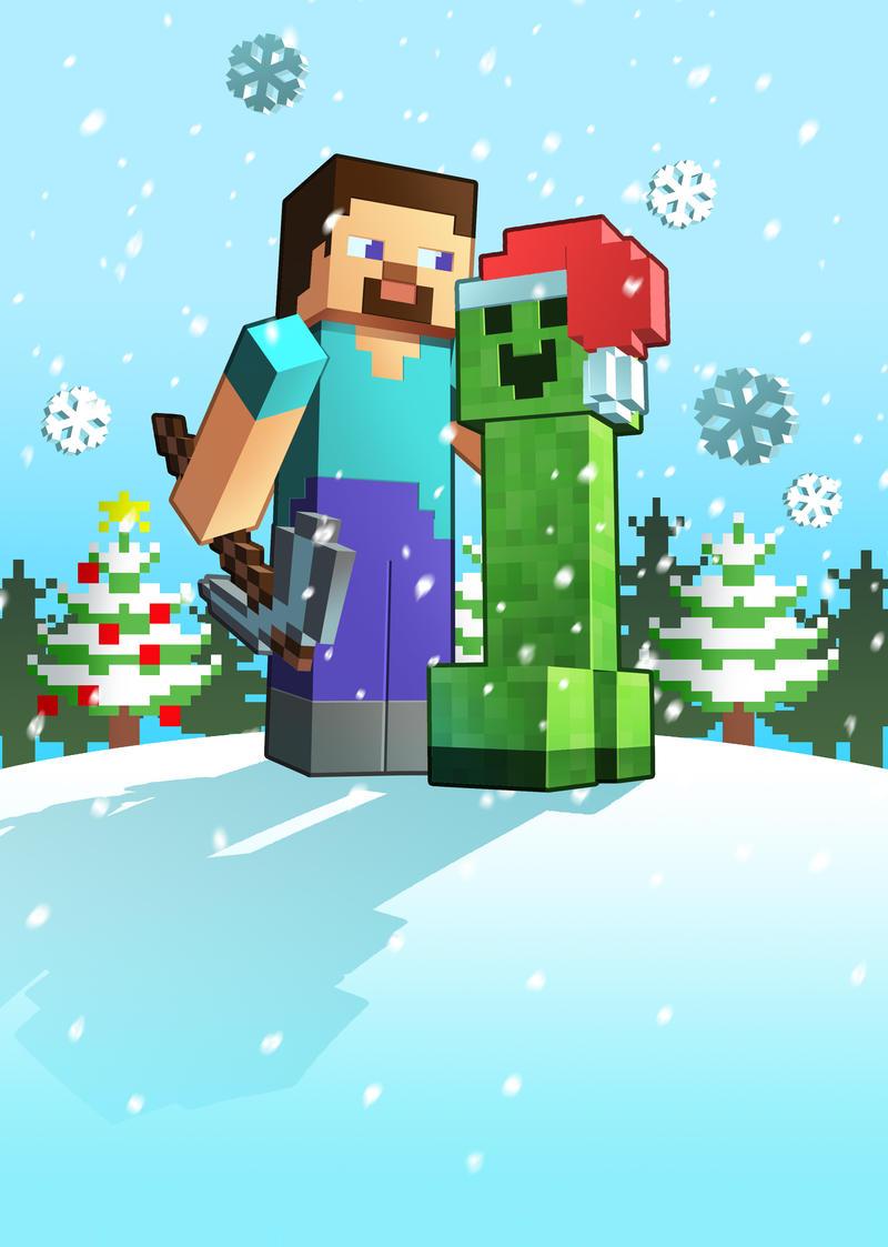 Great Wallpaper Minecraft Christmas - x_mas_minecraft_by_lukali-d73mq8g  Gallery_43596.jpg
