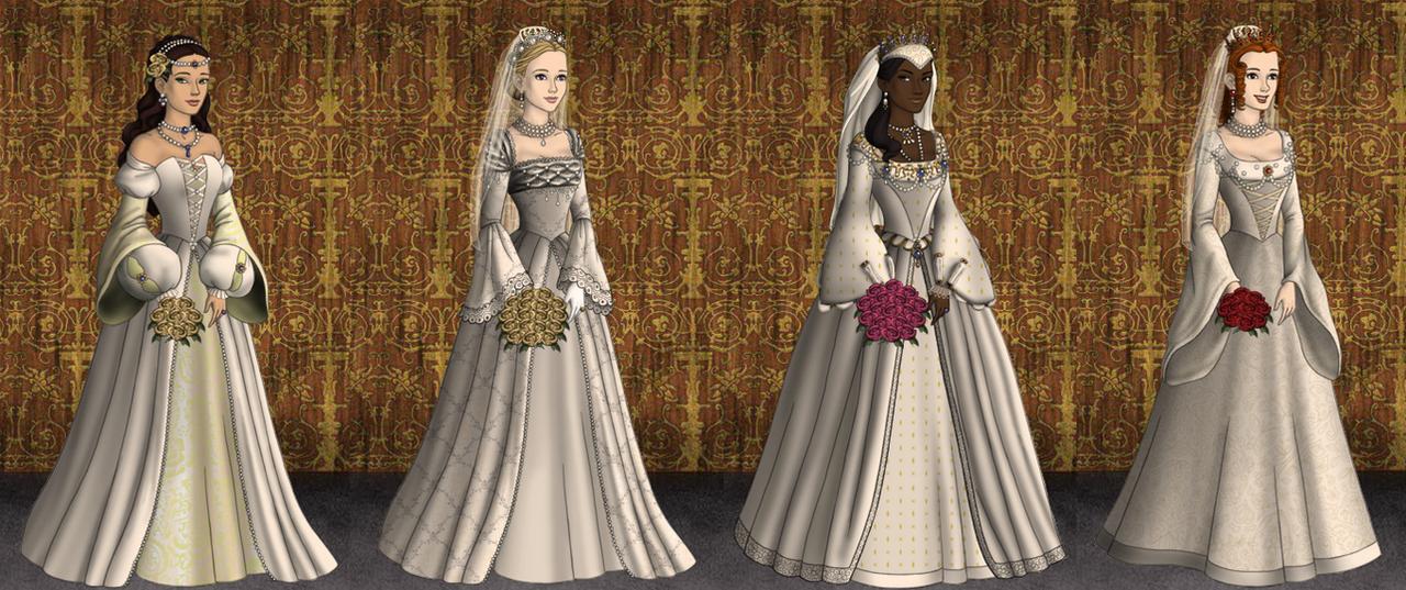 Tudor brides by katiebat on deviantart for Tudor style wedding dress