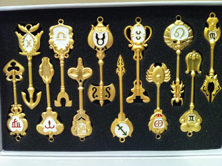 Gold Celestial Spirit Gate Keys from Fairy Tail by Umnei