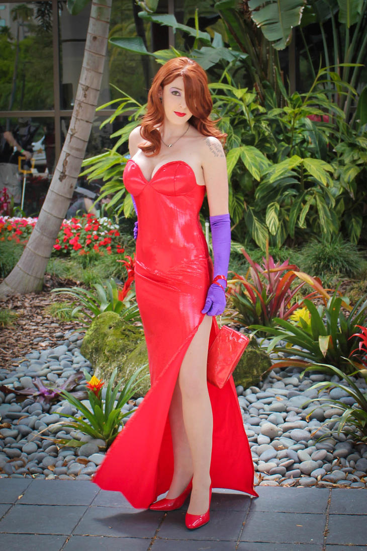Megacon 2011 Jessica Rabbit by Neon-Stitches