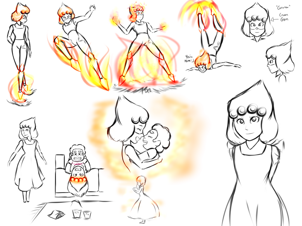 Carnelian Sketches by Parody-of-Eve