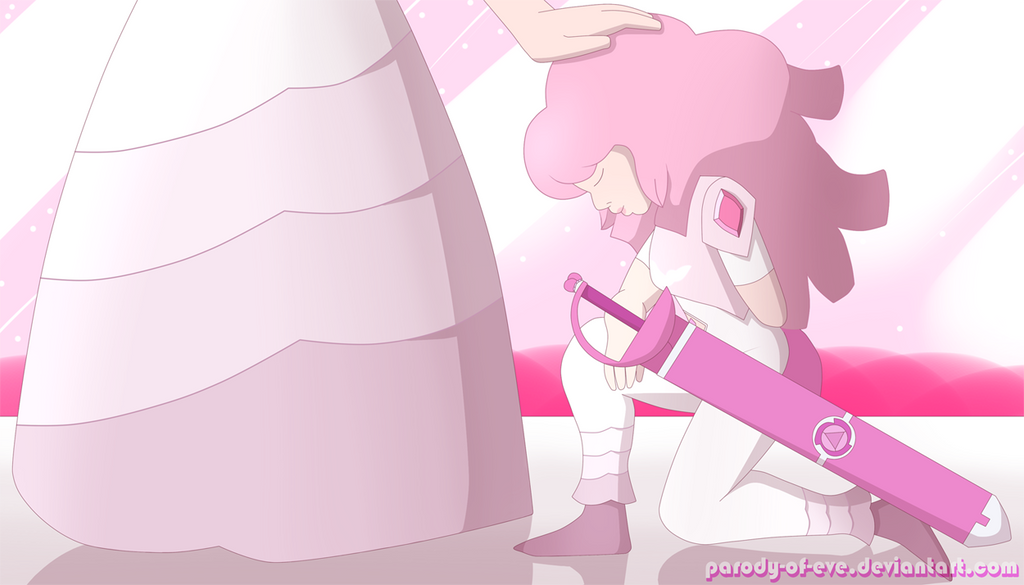 Under Pink Diamond by Parody-of-Eve