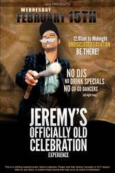 30th Birthday Flyer by jermzv2
