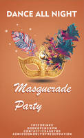 Masquerade Party flyer by mshafimd