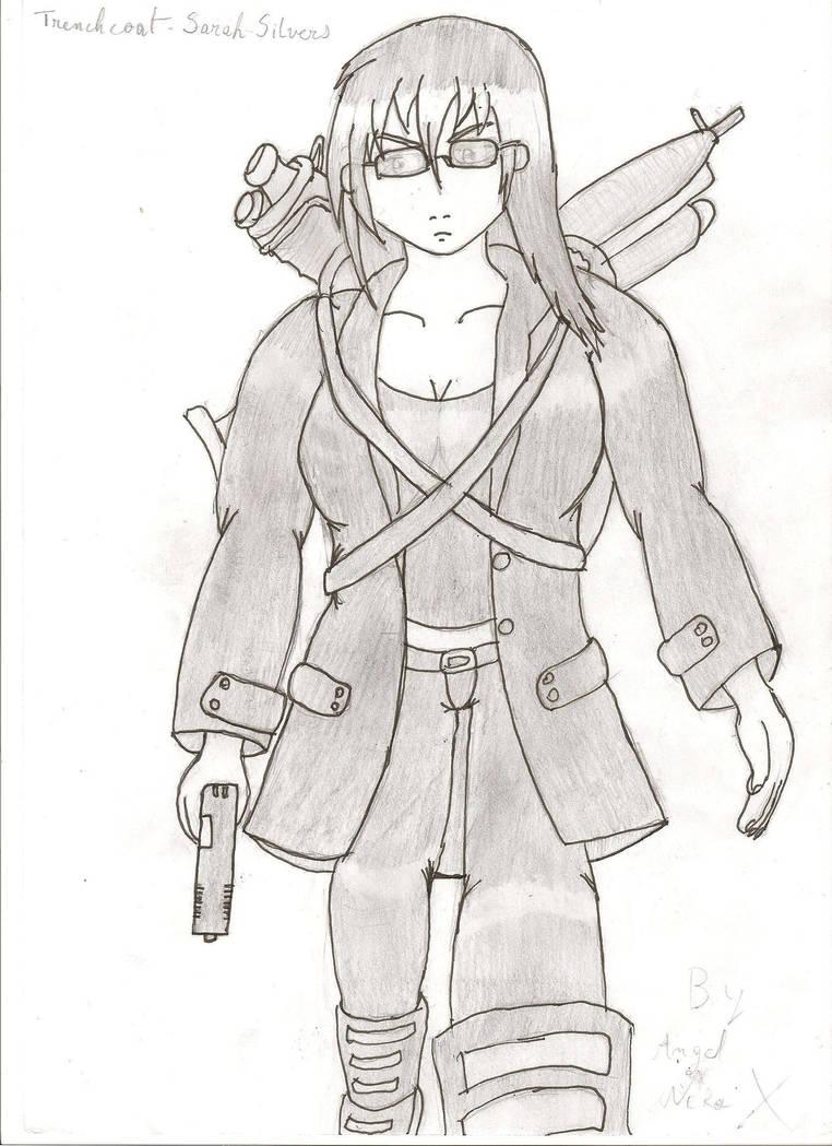 Trenchcoat G-Girl V4 by Shiga95