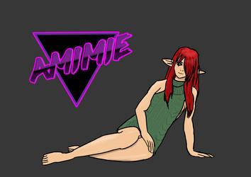 Amimie's virgin killing by Shiga95