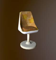 3D Prop : Retro style chair
