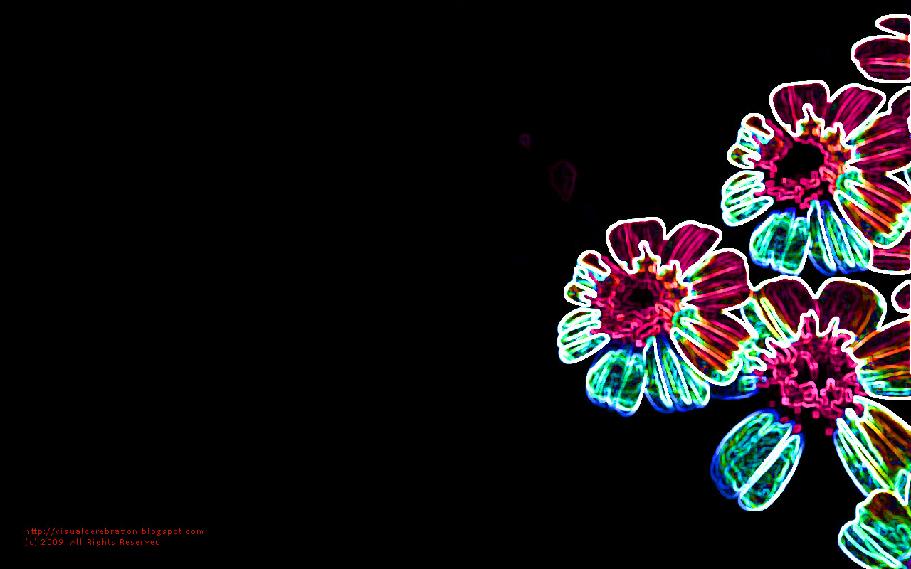 Wallpaper:Electrifying Flowers