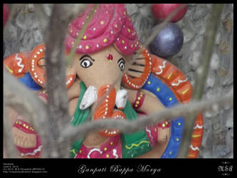 Ganpati Bappa Morya by msahluwalia