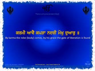 The Eleventh Guru :: Japuji Sahib (2.5b) by msahluwalia