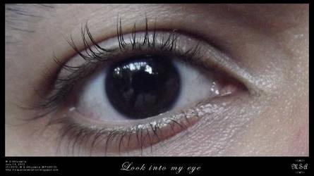 Look into my eye by msahluwalia